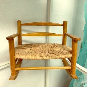 Other - Doll rocking chair